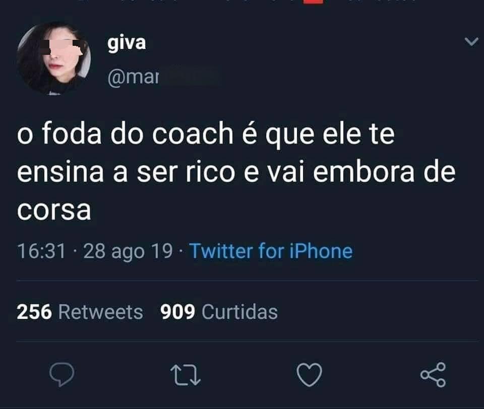 uma verdade sobre coach