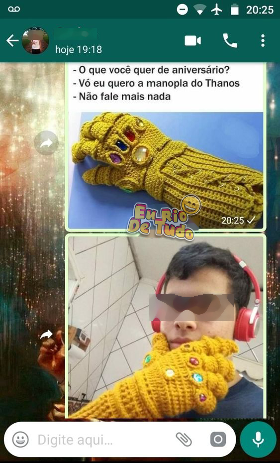 manopla do thanos