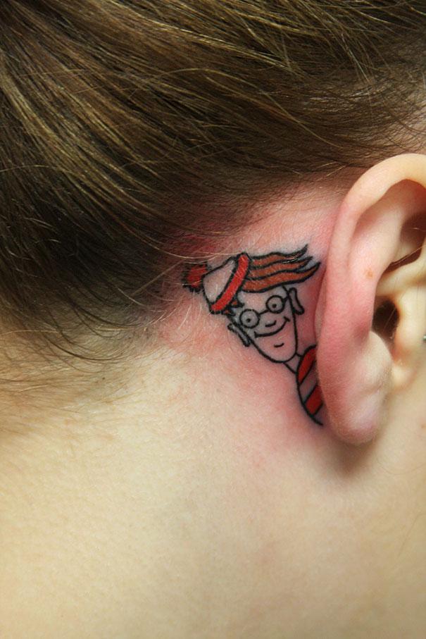 tatuagens interativas wally