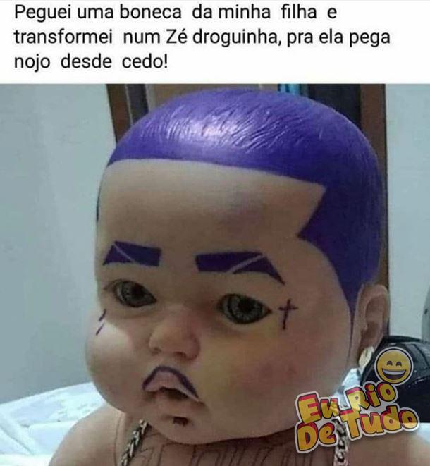 boneco zé droguinha