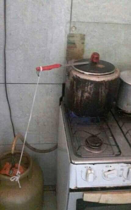 Como consertar panela de pressão