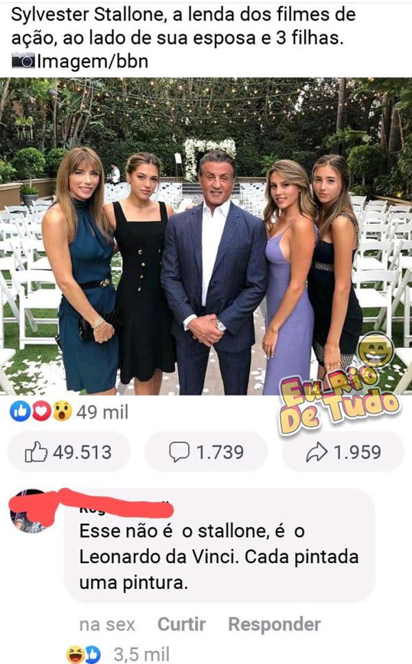 Stallone é uma verdadeira lenda