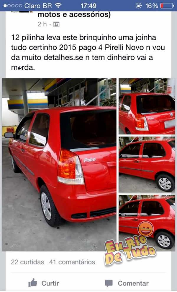 Brasileiros que nasceram pra vender carros