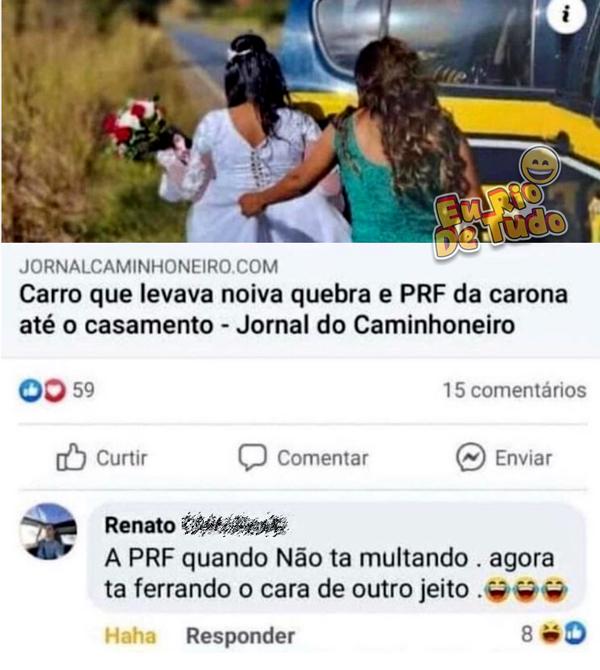 O brasileiro nunca perdoa nenhuma zoeira